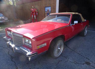 Voiture Cadillac Eldorado 1984 Occasion