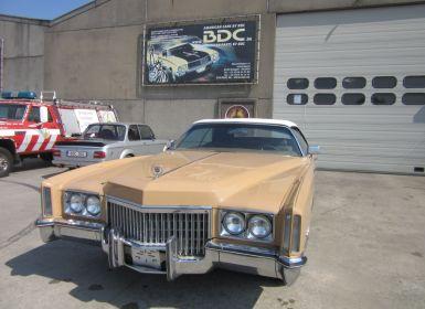 Vente Cadillac Eldorado Cabrio Occasion