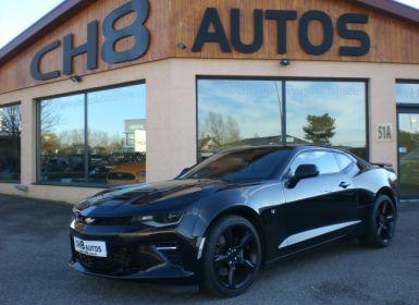 Achat Chevrolet Camaro v8 6.2 453ch din noir toit ouvrant Occasion