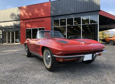 Vente Chevrolet Corvette C2 Convertible Stingray Occasion