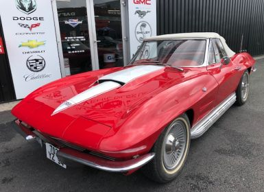 Voiture Chevrolet Corvette C2 STINGRAY 327 CABRIOLET Occasion