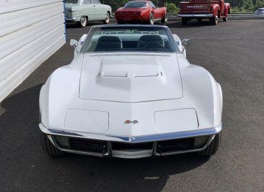Vente Chevrolet Corvette C3 STINGRAY CABRIOLET V8 454ci de 1971 Occasion