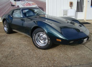 Vente Chevrolet Corvette coupe Stingray 1976 V8 5.7L L82 210cv Occasion