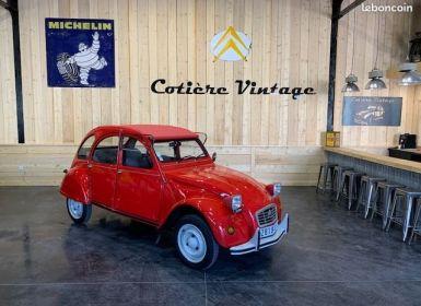 Citroen 2CV Superbe 2cv6 club 1 ère main 63600 km d'origine