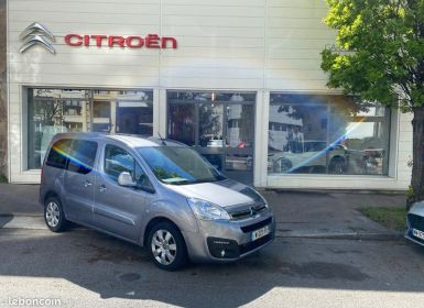 Vente Citroen BERLINGO multispace Shine blue Hdi 120 caméra gps 1 ère main Occasion
