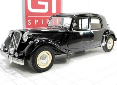 Vente Citroen Traction 15 Six D Occasion