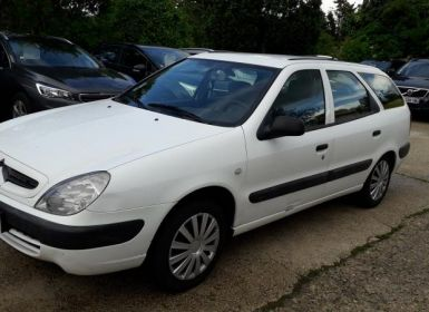 Vente Citroen XSARA BREAK (2) BREAK 1.9 D SX Occasion