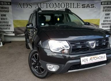 Acheter Dacia DUSTER DCI 110 4X2 Black Touch 2017 Occasion