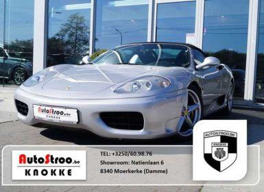 Vente Ferrari 360 Modena 3.6i V8 40v F1 Spider Occasion