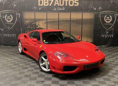 Vente Ferrari 360 Modena F1 3.6 400 ch Origine France Embrayage Ok Occasion