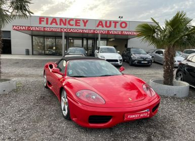 Vente Ferrari 360 Modena Spider Occasion