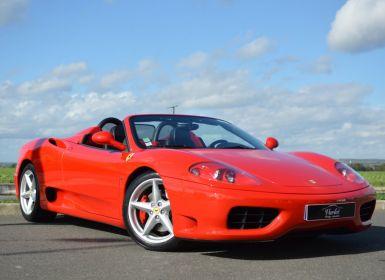 Vente Ferrari 360 Modena Spider 3.6 V8 400ch F1 ROSSO ECUSSON Occasion