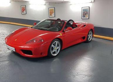 Vente Ferrari 360 Modena Spider BV6 Occasion