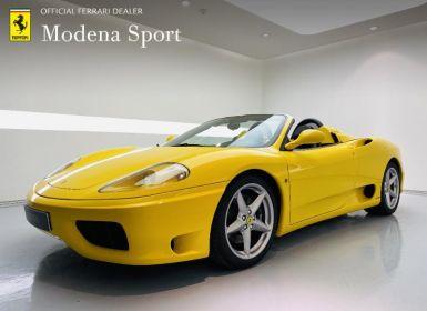Vente Ferrari 360 Modena Spider BVM Occasion