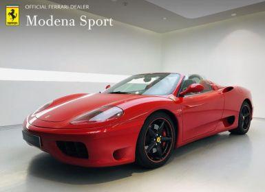 Achat Ferrari 360 Modena Spider F1 Occasion