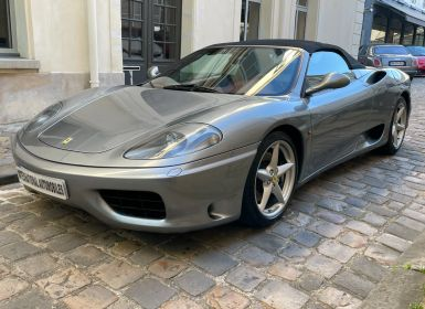 Vente Ferrari 360 Modena Spider F1 Occasion
