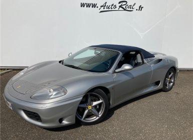 Vente Ferrari 360 Modena Spider V8 F1 Occasion