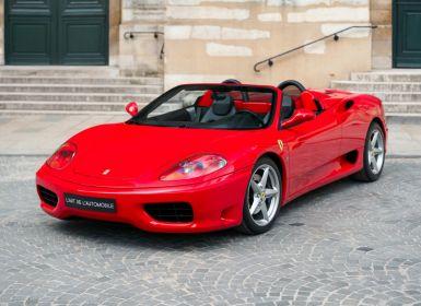 Vente Ferrari 360 Modena Spider *Manual gearbox* Occasion