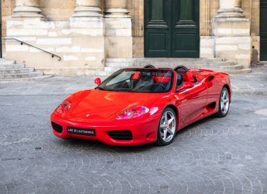 Vente Ferrari 360 Modena Spider *Mecanic Gearbox* Occasion