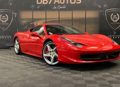 Achat Ferrari 458 Italia 4.5 V8 570ch Occasion