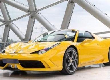 Achat Ferrari 458 Italia SA Special Aperta Occasion