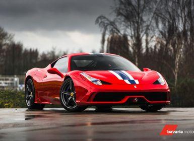Achat Ferrari 458 Italia Speciale Rosso Corsa / LIFT / CARBON SEATS Occasion