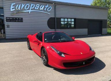 Vente Ferrari 458 Italia Spider 570CH DCT Occasion