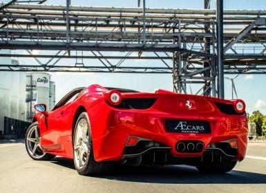 Ferrari 458 Italia SPIDER F1 GEARBOX - CERAMIC BREAKES Occasion