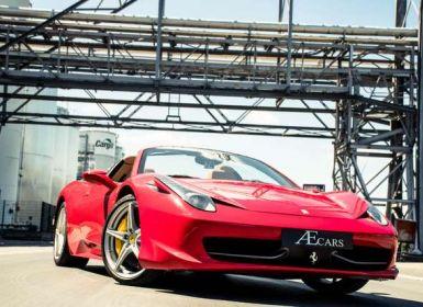 Vente Ferrari 458 Italia SPYDER - F1 GEAR - CERAMIC BREAKS Occasion