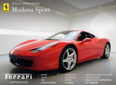 Achat Ferrari 458 Italia V8 4.5 Occasion