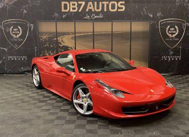 Achat Ferrari 458 Italia V8 4.5 570 ch Occasion