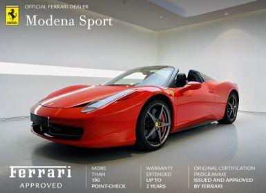 Vente Ferrari 458 Italia V8 4.5 Spider Occasion