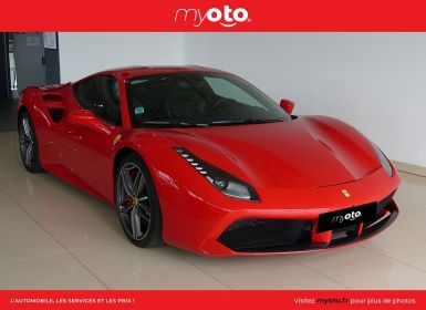 Achat Ferrari 488 GTB V8 3.9 T 670CH Occasion