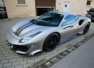 Voiture Ferrari 488 Pista, Argent mat, Tailor-Made !!! Occasion