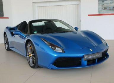 Vente Ferrari 488 Spider V8 3.9 T 670ch#Blue Corsa Occasion