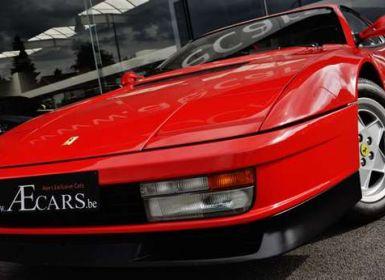Vente Ferrari Testarossa 4.9i V12 ROSSO CORSA - EU CAR - FULL HISTORY Occasion