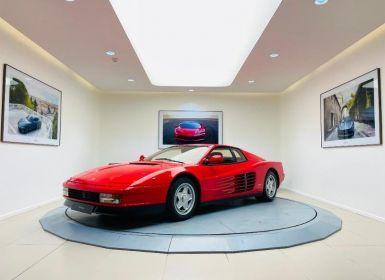 Vente Ferrari Testarossa 5.0 V12 380ch Occasion