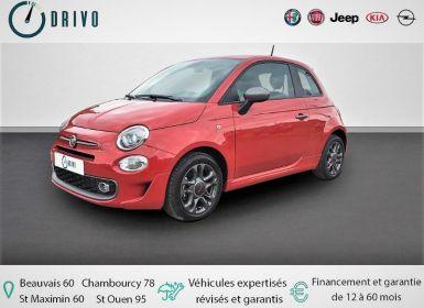 Vente Fiat 500 1.2 8v 69ch S Dualogic Occasion