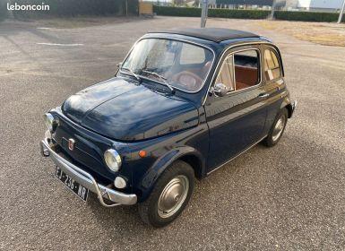 Vente Fiat 500 500l 110f 1972 avec historique Occasion