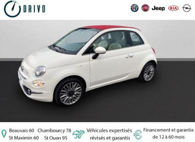 Achat Fiat 500C 1.2 8v 69ch Lounge Occasion