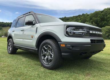 Vente Ford Bronco Badlands 4x4 Neuf