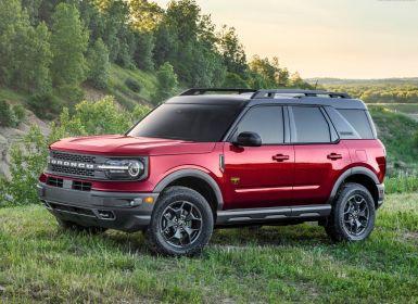 Achat Ford Bronco Frist edition & Badlands 4x4 Neuf