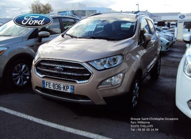 Vente Ford Ecosport 1.0 EcoBoost 125ch Titanium Business Occasion