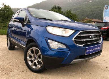 Vente Ford Ecosport TDCI 100cv Occasion