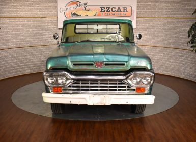 Achat Ford F100 Ford F100 benne courte 1958 Occasion
