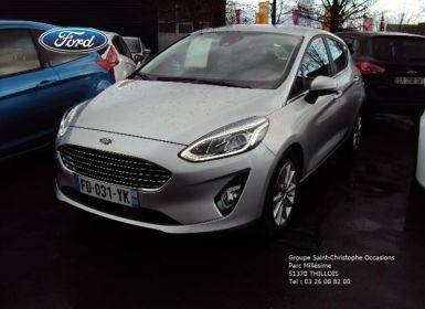 Voiture Ford Fiesta 1.5 TDCi 85ch Stop&Start Titanium 5p Euro6.2 Occasion