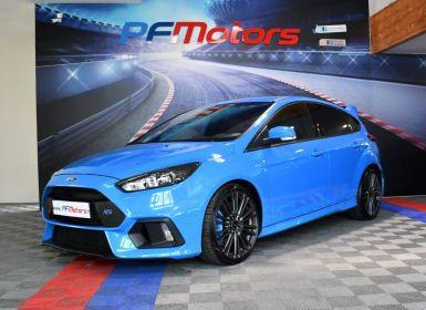 Vente Ford Focus RS mk3 2.3 Ecoboost 350 4×4 GPS Caméra RECARO SONY Suspension Volant Chauffant Drive Mode JA 19 Bleu Nitrous Garantie 04/2022 Occasion