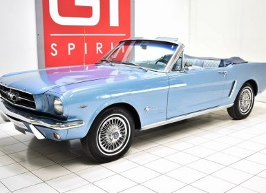 Vente Ford Mustang 289 Ci Cabriolet Occasion