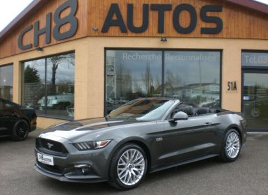 Vente Ford Mustang 5.0 CABRIOLET PACK PREMIUM 2016 Occasion