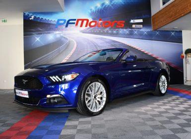 Achat Ford Mustang Cabriolet 2.3 317cv Pack GT SYNC Démarrage sans clé Palette Alarme JA19 Occasion